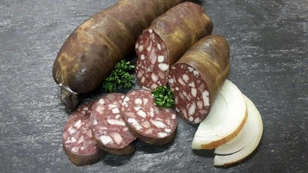 Rotwurst nach Thüringer Art