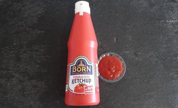 Born Ketchup, Flasche