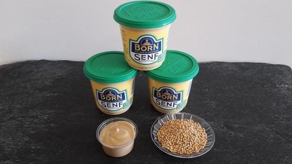 Born Senf, mittelscharf