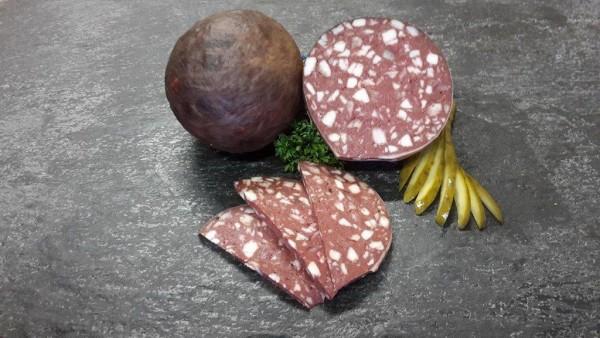 Blasenrotwurst nach Thüringer Art
