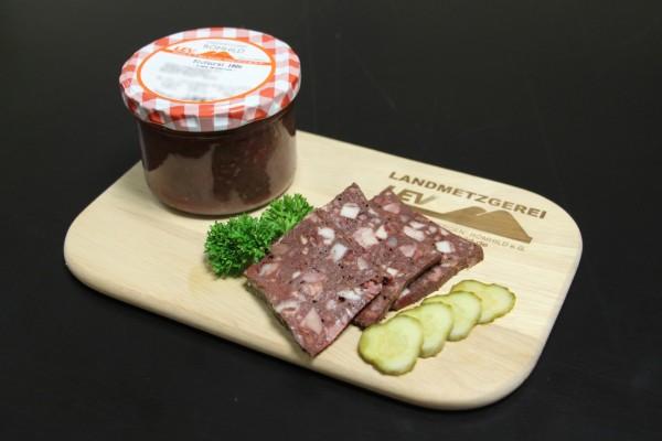 Rotwurst im Glas, klein
